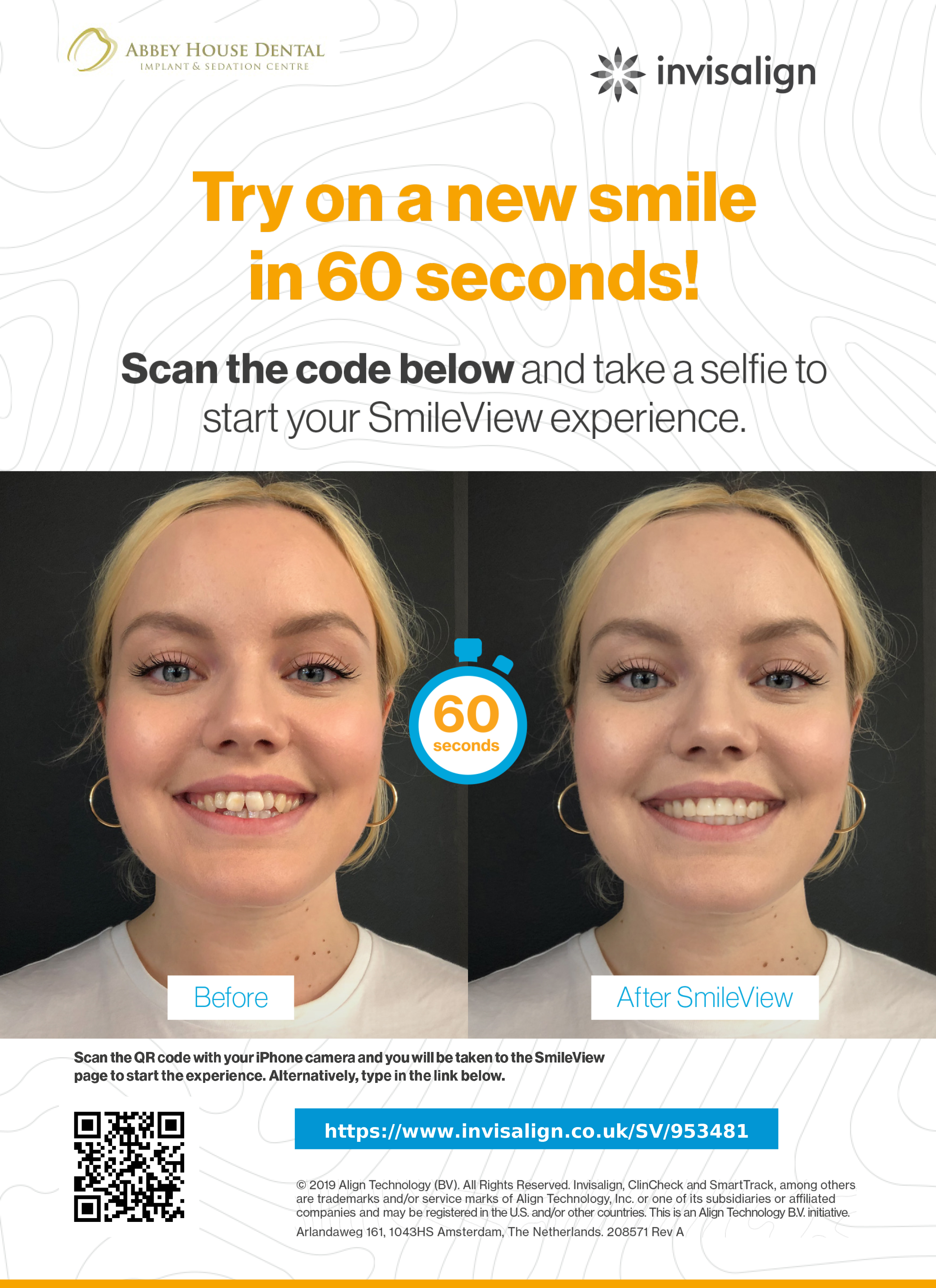 Abbey House Dental - Invisalign Smile View